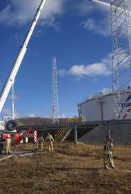 АО «Транснефть – Урал» провело пожарно-тактическое учение на станции «Ленинск»