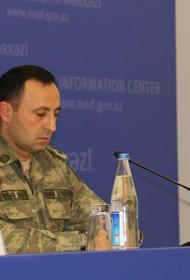 Представитель Минобороны Азербайджана заявил, что армяне сами против себя используют фосфорные боеприпасы