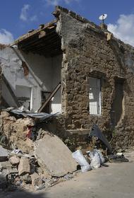 Здание в Бейруте обрушилось через четыре месяца после мощного взрыва в порту