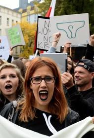 «Требуем отставки правительства!» «Абортные» протесты в Польше дошли до призывов к смене власти