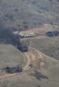 Ереван заявил, что азербайджанские ВС наносили сегодня удары по мирным жителям в Карабахе