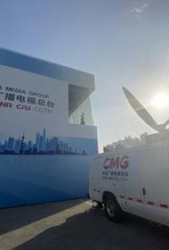 Международную выставку импортных товаров в Китае освещают сотни журналистов