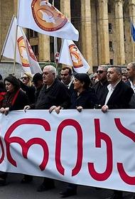 Таинственные незнакомцы и отмена протестов. Некий Саид Ахмед вероятно планировал провокации в Грузии
