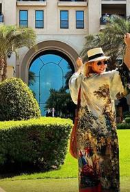 Собчак похвалилась отдыхом в любимом отеле в Эмиратах