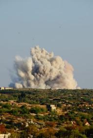 Видео, как бомбардировщик РФ превратил в руины базу джихадистов, которых готовили для Карабаха