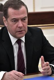 Медведев не подтвердил информацию о росте преступности во время пандемии