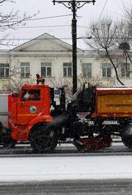 Хабаровск справился с последствием снегопада