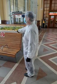 Вокзал Волгограда комплексно дезинфицировали