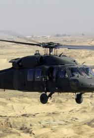 На Синае в результате падения вертолета погибли военные США, Франции и Чехии