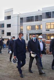 Самая большая в ЮФО школа в Краснодаре закончена на половину