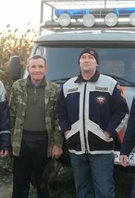 За 12 ноября спасатели дважды помогли заблудившимся людям