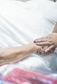 В Волгоградской области в больнице для ковид-пациентов  нашли тело мужчины  с ножевым ранением