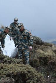 Приводятся уточненные сведения о погибших этой осенью в Карабахском конфликте