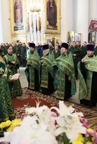 Тыловая структура МО РФ отметила день своего святого преподобного Иосифа Волоцкого