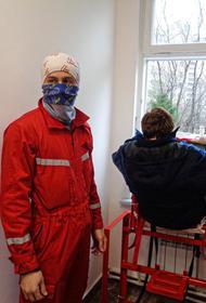 Пожар произошел в частном доме престарелых в Подмосковье