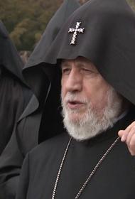 Иерарх Армянской церкви призвал отказаться от трехстороннего договора по Карабаху