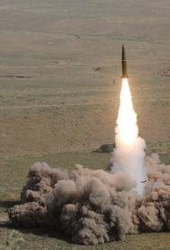 Появилось видео запуска алжирцами российской ракеты «Искандер» в замедленной съемке