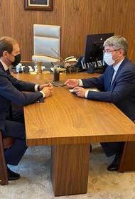 Глава Бурятии Цыденов надеется, что повторный локдаун поможет переломить рост заболеваемости коронавирусом в регионе