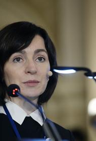 Экс-премьер Молдавии Санду избрана на пост президента страны