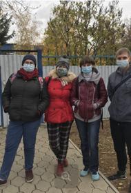 В волжском доме ребенка активисты провели субботник