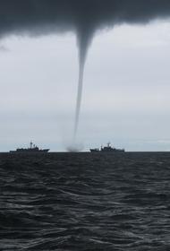 В ближайшие два дня в Сочи ожидается появление смерчей над морем