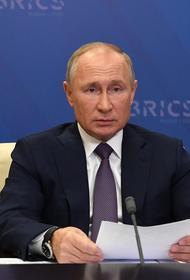 Путин заявил о соблюдении договоренностей в Нагорном Карабахе