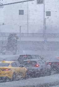 В Москве в среду вечером ожидается мокрый снег