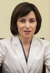 Санду предложила разморозить отношения между Молдавией и Украиной