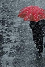 К выходным на Кубани ожидаются дождь, снег и ветер