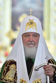 Путин принял патриарха Кирилла в своей резиденции и поздравил его с 74-летием