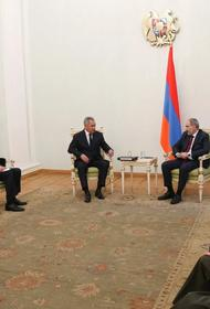 Шойгу назвал основные приоритеты для российских миротворцев в Нагорном Карабахе