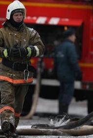 На юге Москвы ликвидирован пожар на складе в промзоне