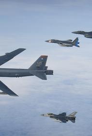 США перебросили на Ближний Восток стратегические бомбардировщики B-52H