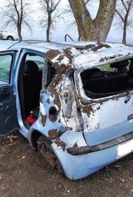 На Кубани в аварии чуть не пострадал младенец