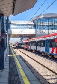 Собянин сообщил о планах строительства и реконструкции десятков ж/д станций