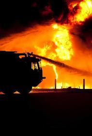 Пожарные локализовали возгорание в промзоне на Варшавском шоссе на юге столицы