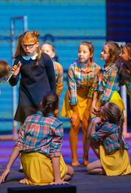 Дети, победившие рак, выступили на сцене Челябинского молодежного театра