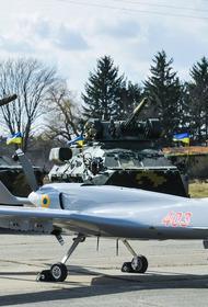 Взлетевший на Украине турецкий ударный дрон Bayraktar TB2 прошел возле северной границы Крыма