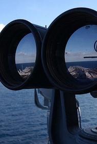 Нарушивший границу России эсминец ВМС США ушел в нейтральные воды