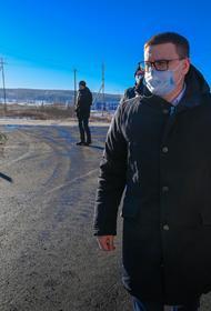 Губернатор Челябинской области Алексей Текслер проехал с инспекцией по объектам дорожного строительства