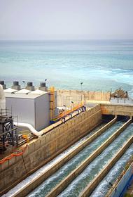 В Крыму начались работы по строительству опреснителей морской воды