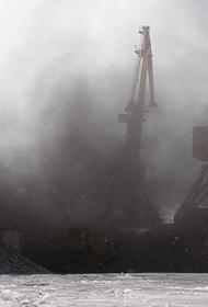 В Совгавани снова поднимается пыль с угольного терминала
