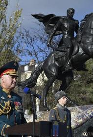 Памятник прославленному генералу Котляревскому открыт  в Феодосии