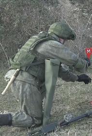 МО РФ сообщает, что в Карабахе разминировано 29 гектаров местности