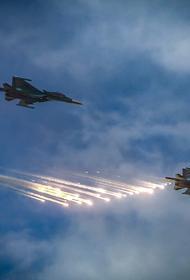 Сайт Avia.pro: ВКС России уничтожили в Сирии до сотни джихадистов за десять минут