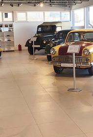В Новороссийске заработал музей отечественных ретро-автомобилей