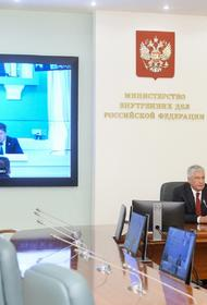 Колокольцев представил личному составу нового руководителя ГУ МВД России по Пермскому краю