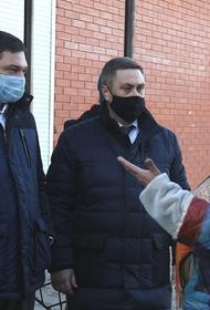 Евгений Первышов представил жителям Елизаветинской нового главу округа