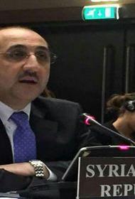 Представитель САР в ОЗХО заявил, что Сирия уничтожила свое химоружие, а США - нет