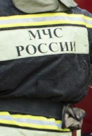 Пожарные приступили к тушению возгорания в коллекторе на Ленинградском проспекте в Москве